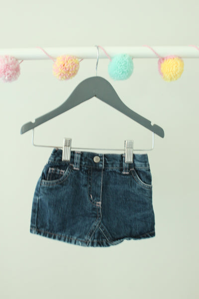 Old Navy Denim Skirt 12-18M