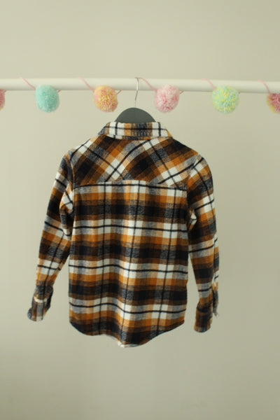 Old Navy Plaid Shirt 5T