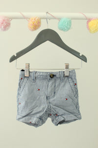 Tommy Hilfiger Sailor Shorts 6-9M