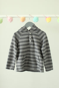 Gymboree Striped Hoodie 3T