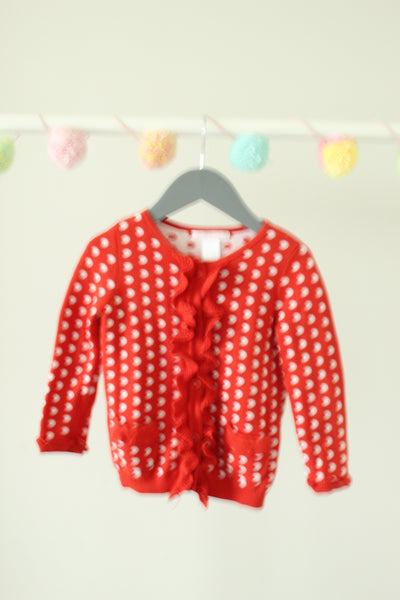 Janie and Jack Cardigan 18-24M