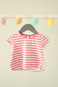 Trimmings Tee 6-9M