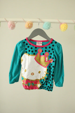 Hello Kitty Top 2T