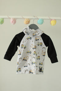 Littlest Elephants Sweater 12-18M