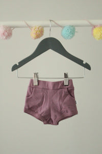 Tiny Button Apparel Shorties 0-6M