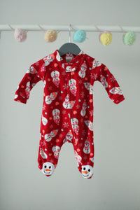 Emma and Jack Fleece Sleeper 3M