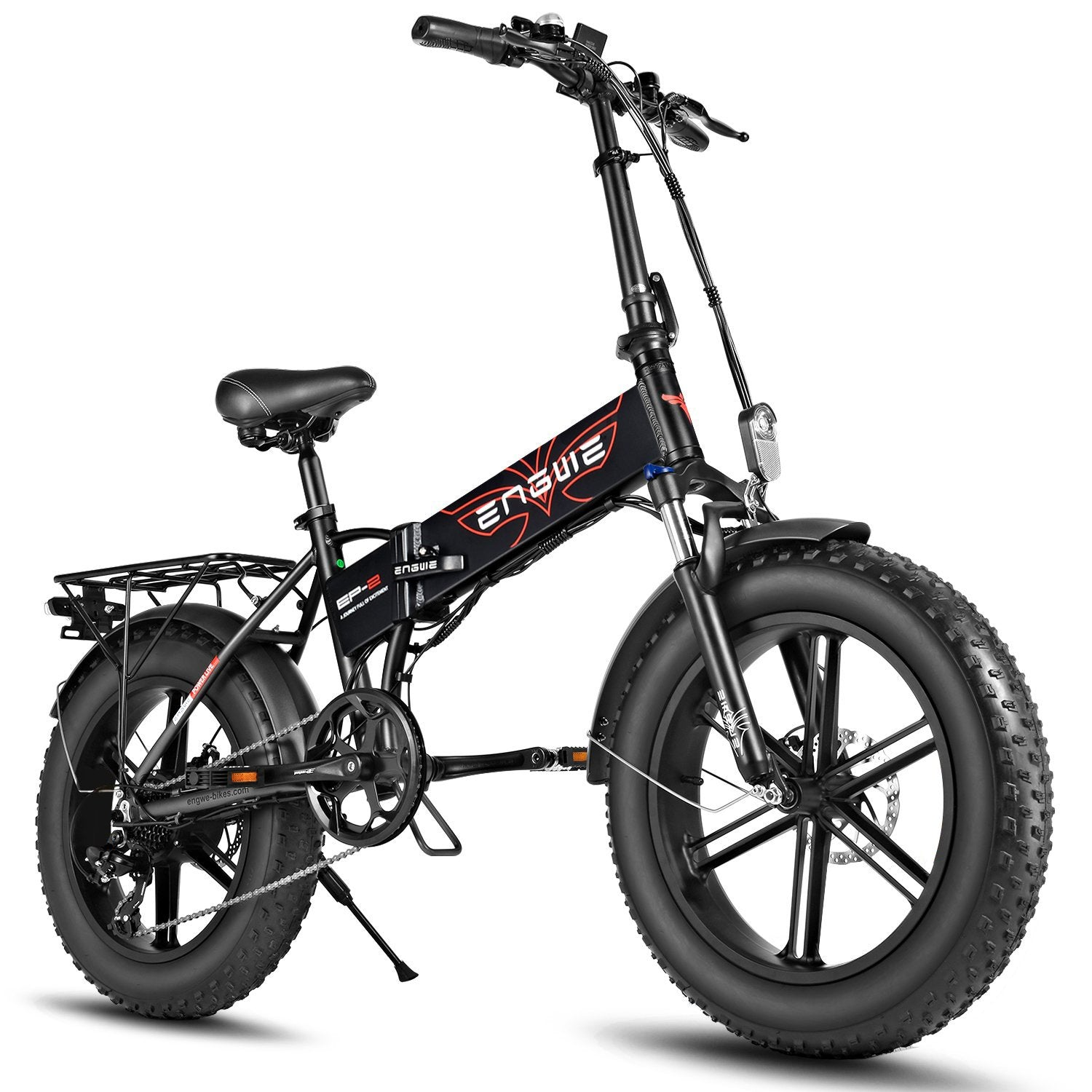 Fiido M1 Pro - Fat Bike Electric Folding Bike Full Suspension 20 Inch 500W