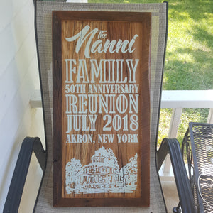 Events & Personalized Signs - Starting @ $299.00 - Email for a Design Quote