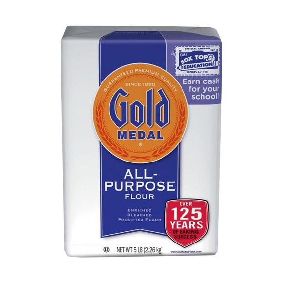 ~Gold Medal Wheat Flour 80oz ~ {طحين 2.3كغ}