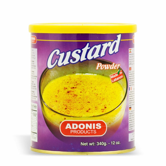 ~Adonis Custard Powder 12oz~ {كاسترد بودرة أدونيس 340غ}