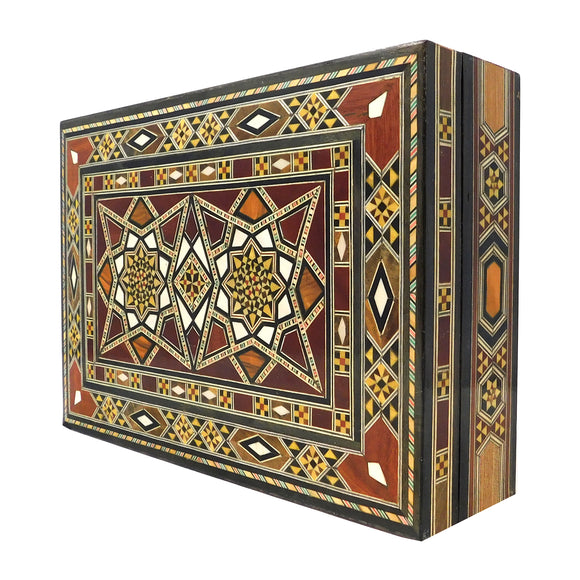 ~Mosaic & Mother Of Pearl Box - Double Star~{صندوق موزاييك مصدف - نجمتين}