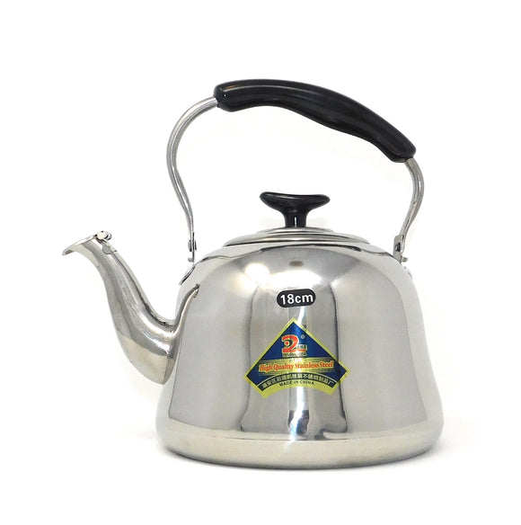 ~Stainless Steel Kettle with Strainer - Small 1L~ { إبريق ستانلس ستيل مع مصفاة - صغير 1 لتر}