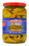 ~Tazah Mild Turkish Chili Pepper Pickles 25oz~ {مخلل فليفلة حارة 700غ}