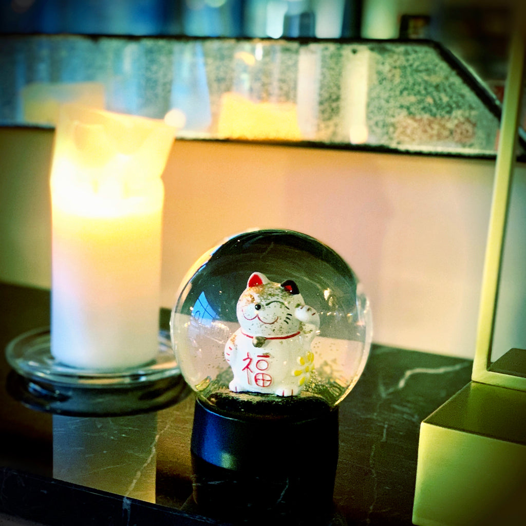 lucky cat maneki neko vinkemis