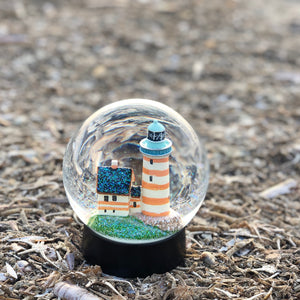 SPROGØ FYR / SPROGØ LIGHTHOUSE SNOW GLOBE