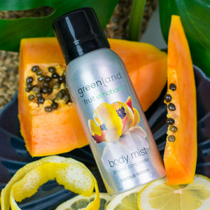 Body mist aerosol papaya y limón