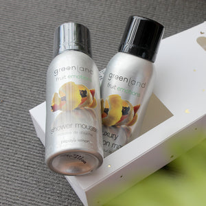 Set Mousse Sensaciones shower + body lotion papaya y limón