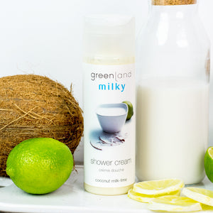 Shower cream leche de coco y lima