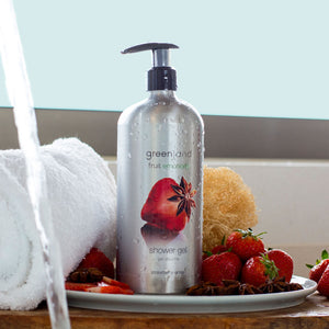 Shower Gel fresa y anís 600ml