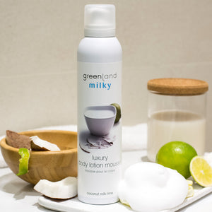 Body Lotion mousse leche de coco y lima