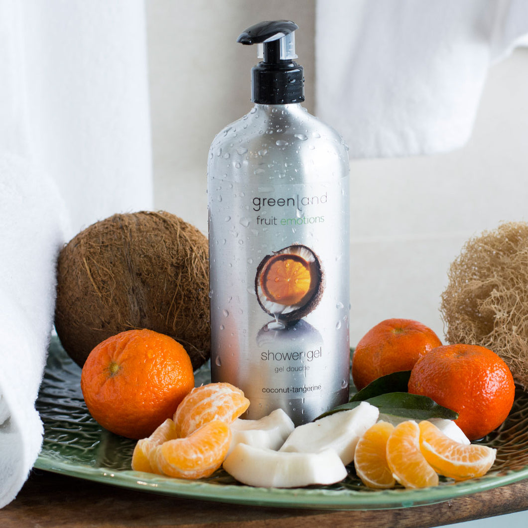 Shower gel coco y mandarina 600ml