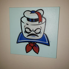 "Load image into Gallery viewer, STAY PUFT painting- 12"" X 12"" CANVAS"
