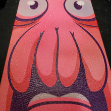 "Load image into Gallery viewer, Dr. Zoidberg head- 6"" X 12"" CANVAS"