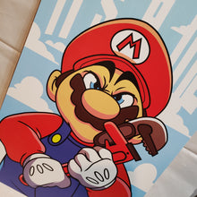 "Load image into Gallery viewer, Mario - 11"" x 17"" PRINT"