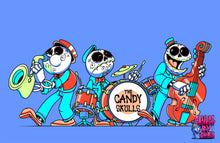 "Load image into Gallery viewer, THE CANDY SKULLS - 11"" x 17"" PRINT"