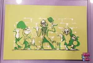 "GHASTLY HITCHHIKERS - 12.5"" x 19"" LIMITED EDITION SCREEN PRINT"