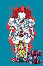 "Load image into Gallery viewer, WE ALL FLOAT - 11"" x 17"" PRINT"