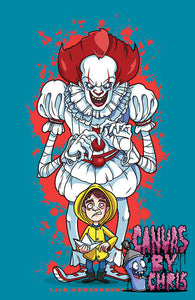 "WE ALL FLOAT - 11"" x 17"" PRINT"