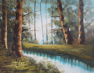 "25th January 2020 - Beginner Oil Painting Workshop ""Forest"""