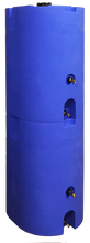 Blue 160 Gallon Water Storage Tank