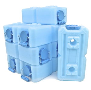 WaterBrick Emergency Water Storage - 10 Pack