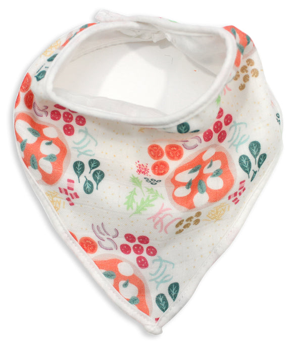 Pizza Muslin Bandana Bib - Shop Tiffany Wong Design