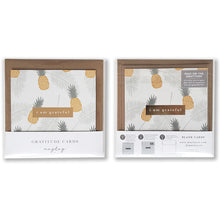 Load image into Gallery viewer, Golden Gratitude Cards - Shop Tiffany Wong Design