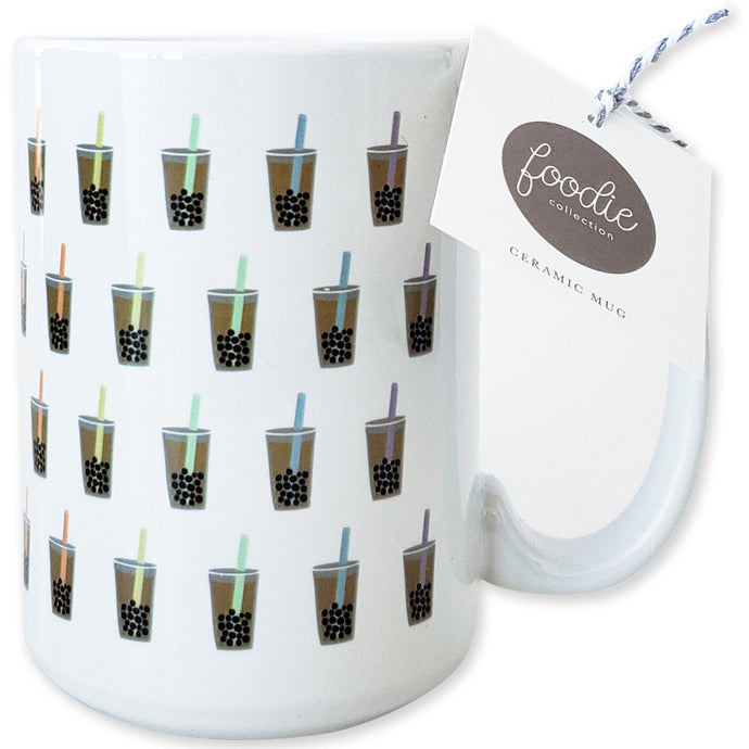 Boba Bubble Tea Ceramic Mug - Shop Tiffany Wong Design