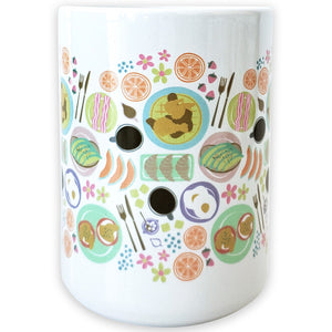 Brunch Ceramic Mug - Shop Tiffany Wong Design