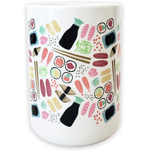 Load image into Gallery viewer, Sushi Ceramic Mug - Shop Tiffany Wong Design