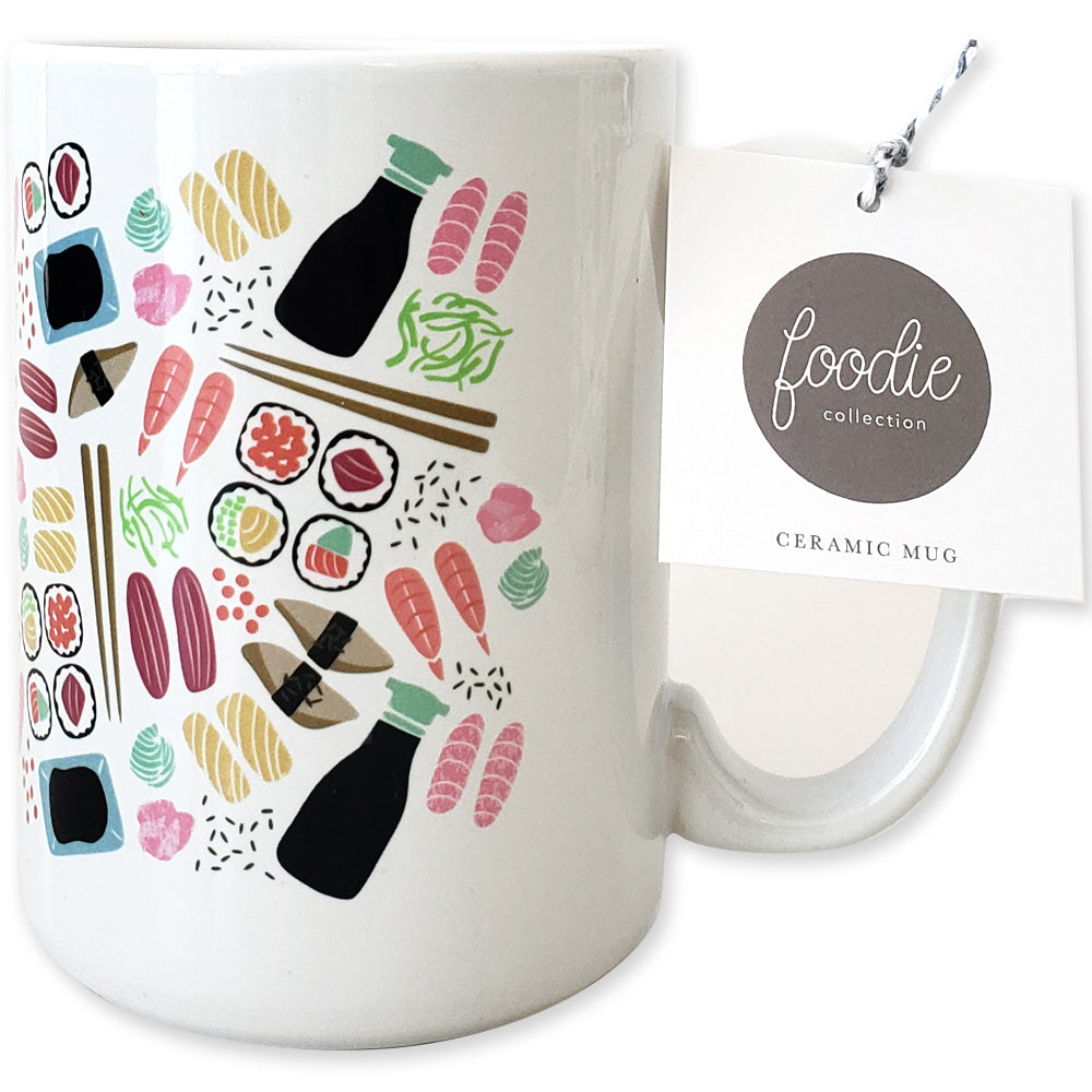 Sushi Ceramic Mug - Shop Tiffany Wong Design