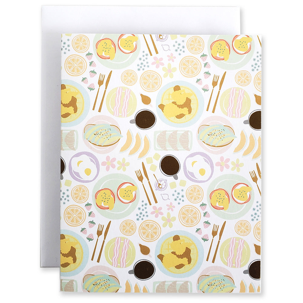 Brunch 5Pk Notecards - Shop Tiffany Wong Design