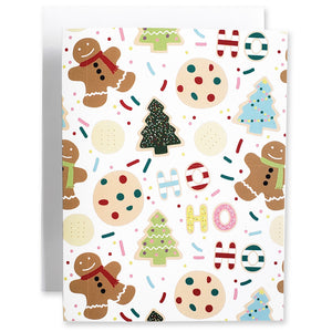 Christmas Cookies 5Pk Notecards - Shop Tiffany Wong Design