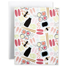 Load image into Gallery viewer, Sushi 5Pk Notecards - Shop Tiffany Wong Design