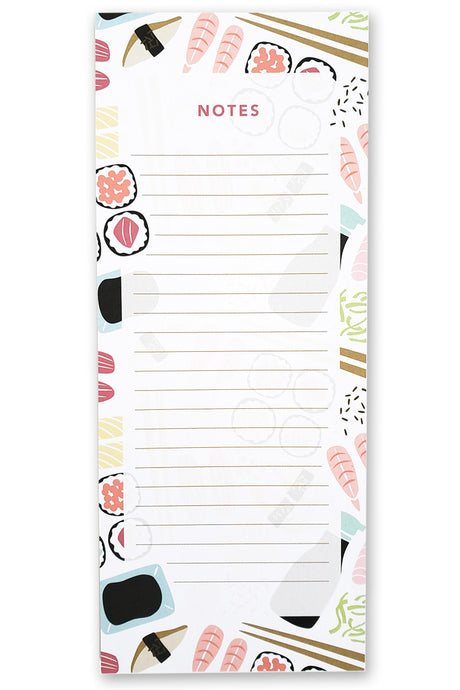 Sushi Notepad - Maylay Co.