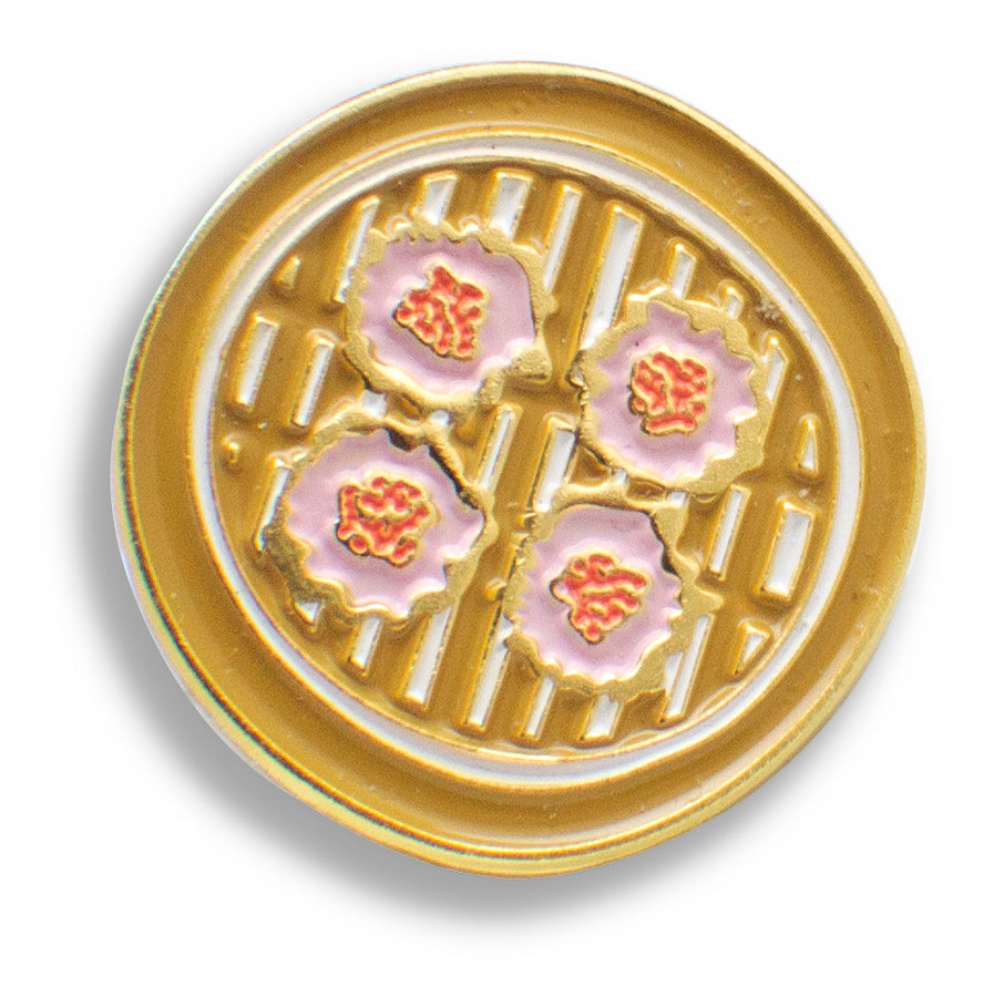 Shumai Enamel Pin - Shop Tiffany Wong Design