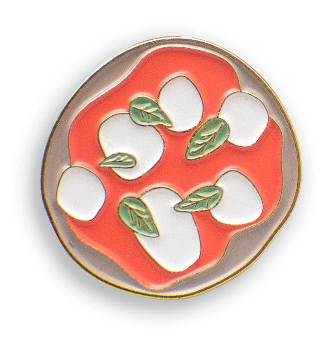 Pizza Margherita Enamel Pin