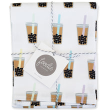 Load image into Gallery viewer, Boba Bubble Tea and Dish Towel - Shop Tiffany Wong Design