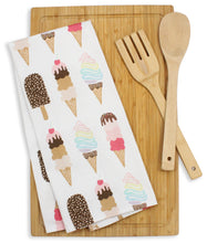 Load image into Gallery viewer, Ice Cream Tea and Dish Towel - Maylay Co.