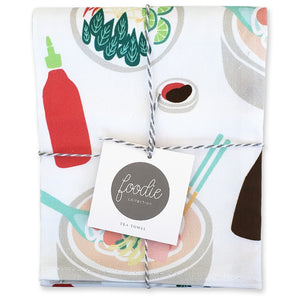 Pho Tea and Dish Towel - Shop Tiffany Wong Design